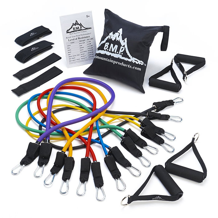 Ultimate Resistance Band Set Black Mountain Products